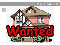 3/4 Bedroom house wanted to rent