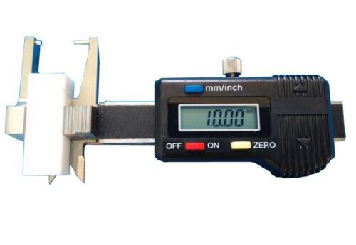 New Mini Pocket Digital display Jewel Diamond Gauge Caliper Micrometer 0-25mm