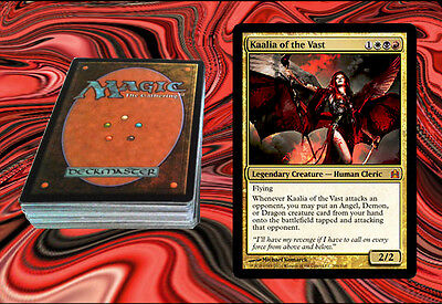 (KAALIA OF THE VAST Custom Magic The Gathering EDH Deck MTG - VERY POWERFUL)