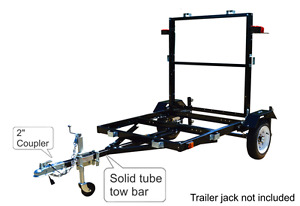 New in Box Folding Utility Trailer (SALE) Comox Comox / Courtenay / Cumberland Comox Valley Area image 4