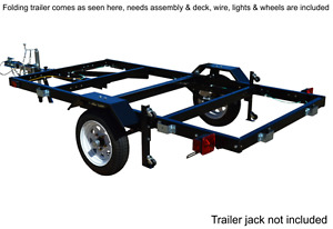 New in Box Folding Utility Trailer (SALE) Comox Comox / Courtenay / Cumberland Comox Valley Area image 2