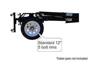 New in Box Folding Utility Trailer (SALE) Prince George Prince George British Columbia image 7