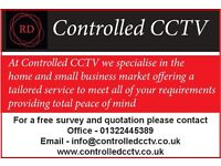 Controlled CCTV - Installing the latest HD equipment with full IP and Infrared cameras