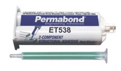 Permabond Et538 Super Strong Epoxy Aluminum Metal Ceramics Woodplastics 50gr