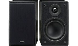 Denon SC-M37 Speakers, quality compact speakers with speaker cables