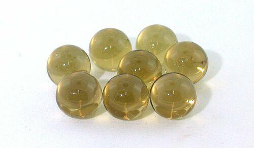 ONE 12mm Oro De Verde Citrine Sphere Crystal Ball Gemstone Gem Stone EBS8371