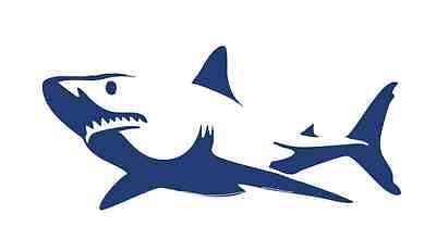 Swimming Shark 855 - Vinyl Sticker / Decal - Custom Made to -