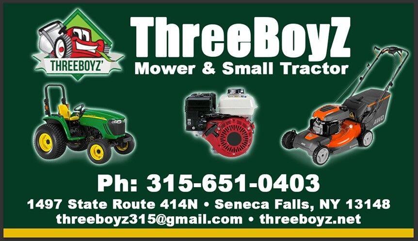 ThreeBoyZ' Mower & Small Tractor