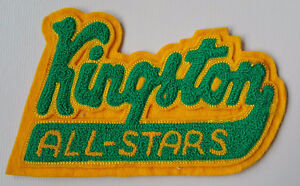 KINGSTON ALL STARS SEW ON TEAM HOCKEY PATCH ONTARIO CANADA