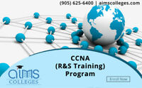 Hands-on CCNA R&S Training at AIMS College | CISCO Net Academy
