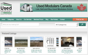 USED MODULARS PRINCE GEORGE- Buy and Sell Used Modulars Online
