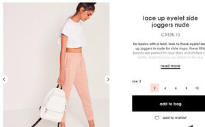 Super cute leggings for sale from  Missguided
