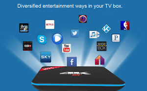 Latest Version, Android 6.0 system tv box with Newest kodi ver.