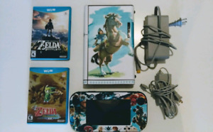 Wii U collection Zelda Breath of the wild + 2 jeux Zelda