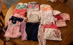 Baby girl Newborn/1 month clothing