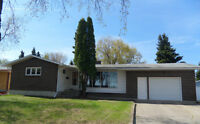 Family sized home in quiet area of Melfort!