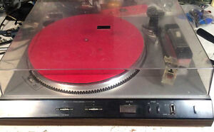 Table Tournante Sanyo TP 1024 Turntable fonctionel ** NEGO **