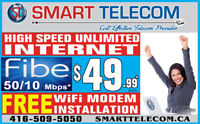 UNLIMITED  INTERNET FROM $29.99* FREE*FREE*