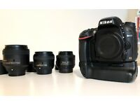 Nikon D600, full frame DSLR, 3 lenses and extras OFFERS WELCOME