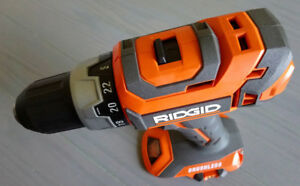 NEW! Ridgid Li-Ion Cordless Brushless Drill/Driver(Tool Only)