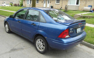2004 Ford Focus Sedan - Good Condition - As is...
