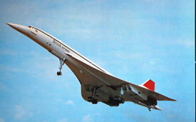 Great present for an aviation enthusiast, an original Concorde folder