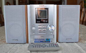 PRICE REDUCED - Panasonic stereo Mini Player including CDs -