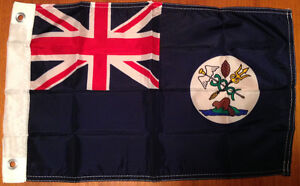 1865 authorized Flag of Vancouver Island