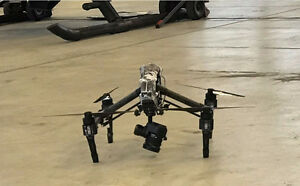 DJI Inspire 1 Pro set up with X5 Dual control + EXTRAS