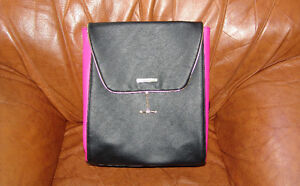 Juicy Couture Backpack Purse  / Bag New Never Used Black Pink