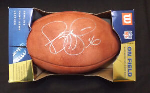 Jerome Bettis Pittsburgh Steelers Signed NFL Wilson Football