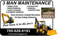 SCRAP METAL AND LAND CLEARING AVAILABLE