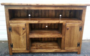 Handcrafted Entertainment Unit ! Save $100