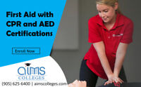 First Aid with CPR and AED Certifications | AIMS Colleges