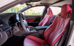 WANTED: Lexus IS-F × RC-F × GS-F seats