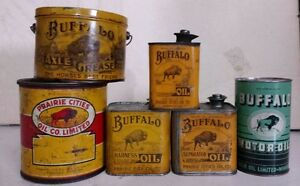 BUFFALO OIL CANS & NORTH STAR Regina Regina Area image 1