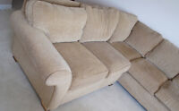 Custom made sofa for sale - this is a steal!