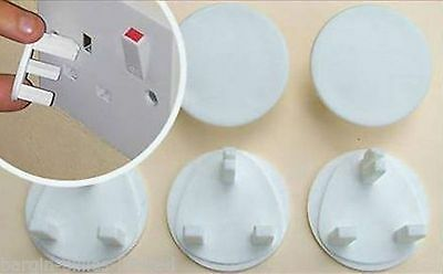 CHILD BABY PROOF MAINS ELECTRICAL PLUG SOCKET SAFETY PROTECTOR COVERS INSERTS