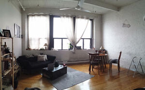 One bedroom Loft, Boul.Saint-Laurent, available on August 1st