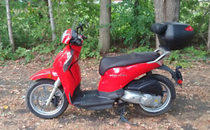 Low mileage scooter