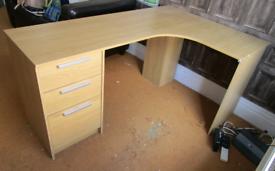 Left side corner desk