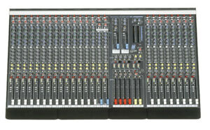 Allen & Heath (GL2200) 24-Channel Mixer w/ hard case $649.99