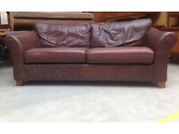 Marks & Spencer leather abbey sofa