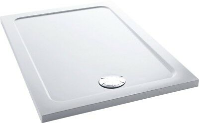 Mira Flight Shower Enclosure Tray Low Profile Stone Rectangular Waste 1200x900mm
