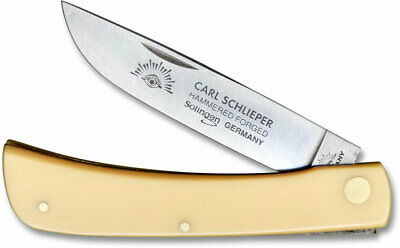 GERMAN EYE BRAND CUTLERY KNIFE- #GE99Y CLODBUSTER -YELLOW HANDLE-MADE IN GERMANY