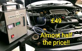 Engine carbon car van minibus taxi NHS motorhome mobile