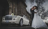 GTAs Newest White Rolls Royce Phantom Limo Limousine Wedding