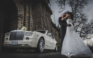GTAs Newest White Rolls Royce Phantom Limo Limousine Wedding City of Toronto Toronto (GTA) image 1