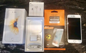 Gold 32GB iPhone 6S- Excellent  condition with EVERYTHING incl