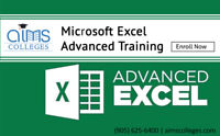 Microsoft Excel Advanced Training – AIMS College | Enroll Now